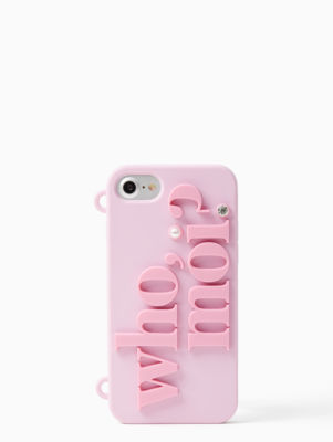 who moi w/ chain iphone 7 case