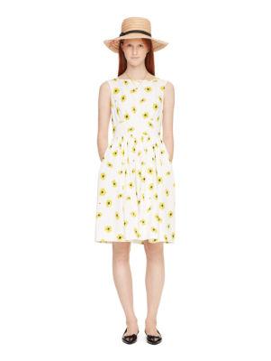 daisy dot lyric dress