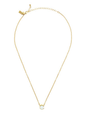 dainty sparklers pearl pendant