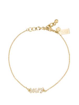 say yes pave mrs bracelet