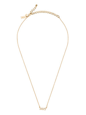 say yes pave mrs necklace