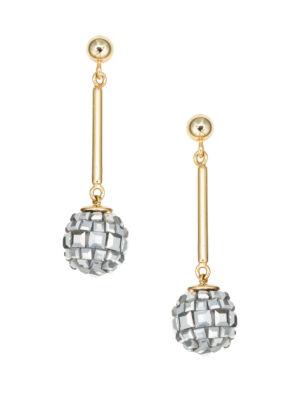 disco fever drop earrings