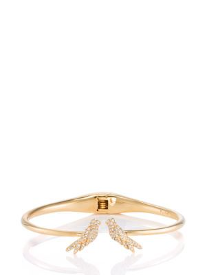 cold comforts bird open hinge bangle