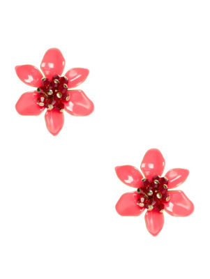 lovely lilies statement studs